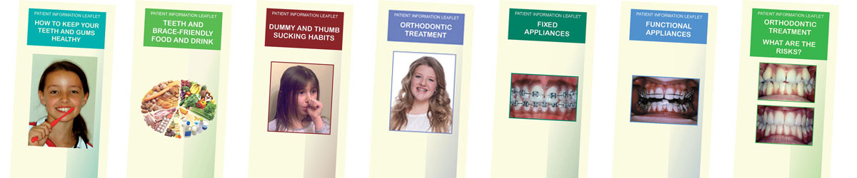 British Orthodontic Society treatment leaflets